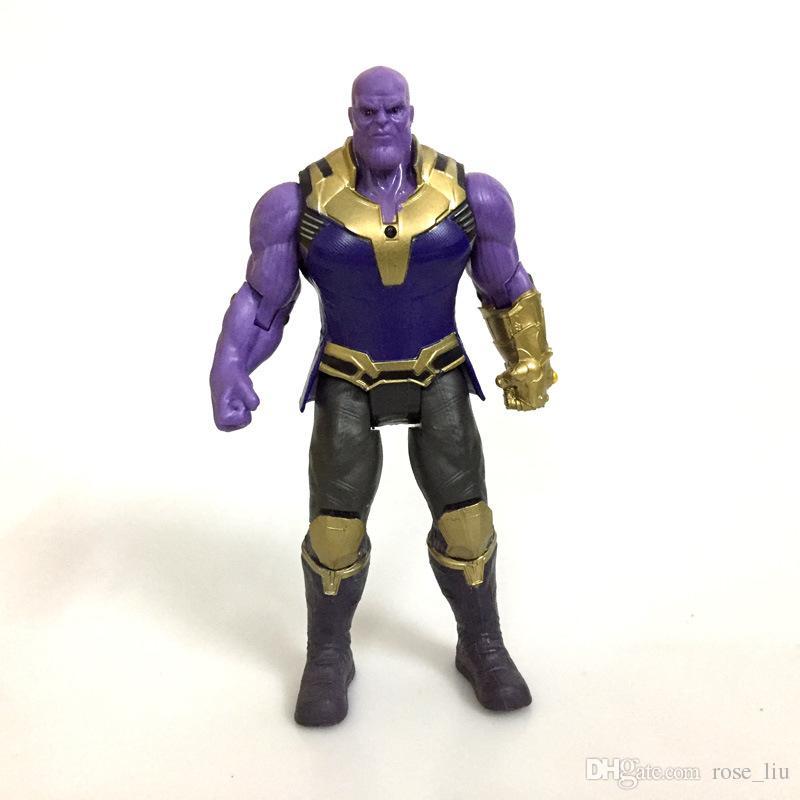 2 Style Avengers 3 Infinity War Figure jouets 2018 Nouveau Thanos Hulk Films conjoints Movable Action Figure Jouet B