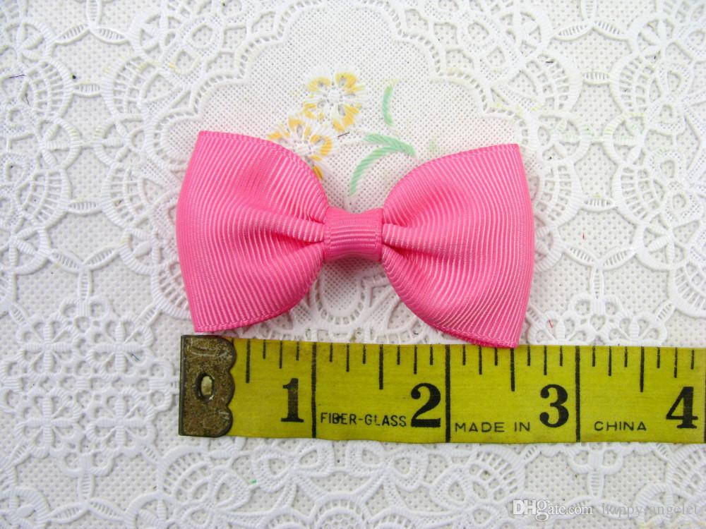 Gril handgemachten Kopfbedeckung Einfach und leicht 2,5-Zoll-Ripsband Bowknot Schönes Haar beugt Boutique Haarspangen Zubehör HD3210