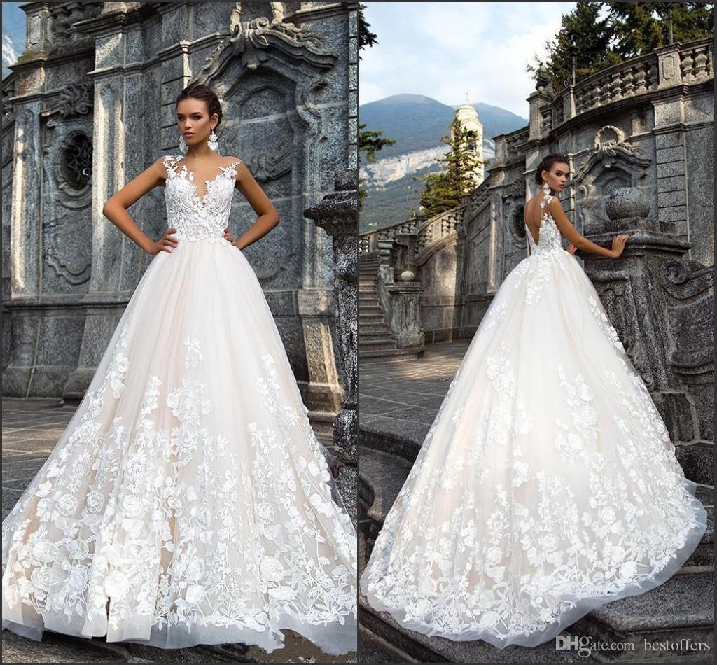 Discount Designer Wedding Gowns: Discount Summer Beach New Design Elegant Wedding Dresses
