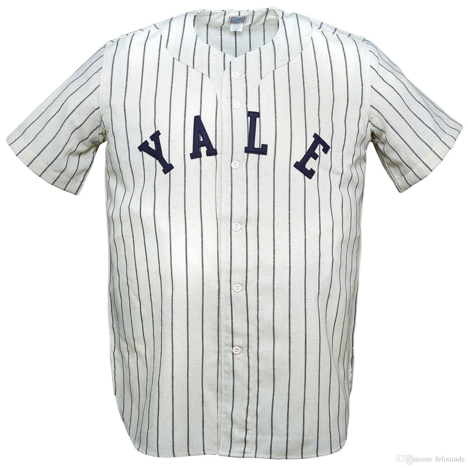 789004bacff 2019 Yale Bulldogs Yale University 1948 Home Jersey Double Stiched Name    Number   Logos Baseball Jersey For Men Women Youth Customizable From  Felixtrade