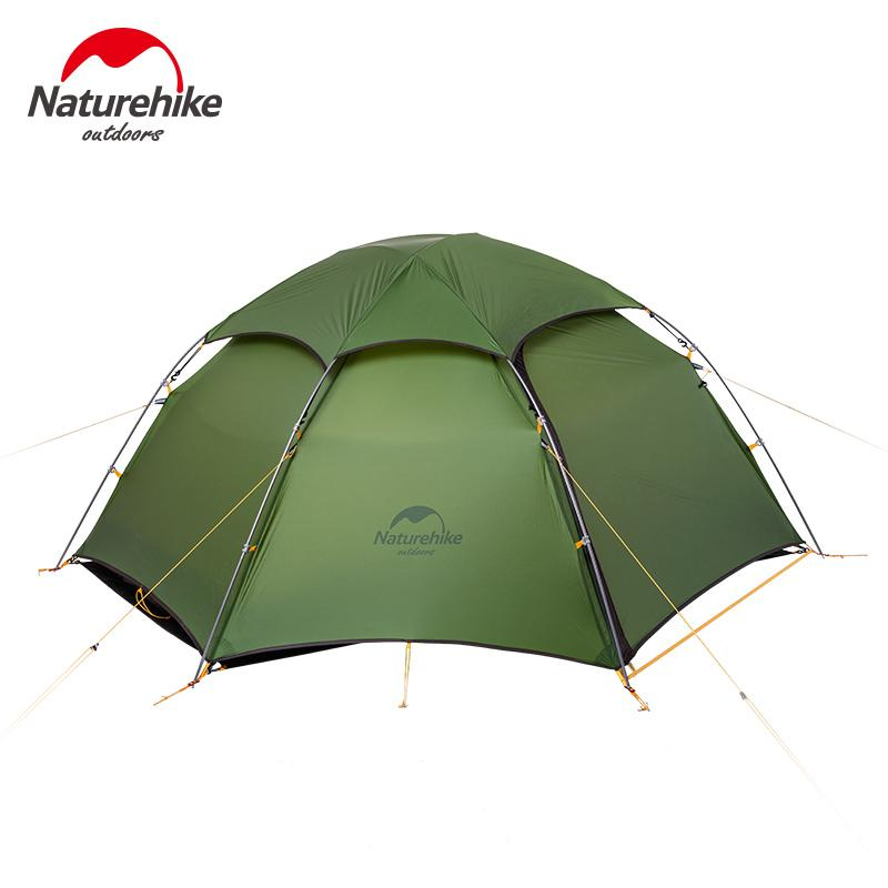 Naturehike Tent 2 Person 20D Silicone Fabric Double Layers With Waterproof Tent Roof Rainproof C&ing Hexagonal Ultralight 8 Man Tent Tunnel Tents From ...  sc 1 st  DHgate.com & Naturehike Tent 2 Person 20D Silicone Fabric Double Layers With ...