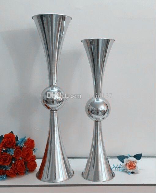araña de cristal de la mesa de bodas mental con la pieza central del soporte de la torta de los filamentos de Acrylice sin la luz