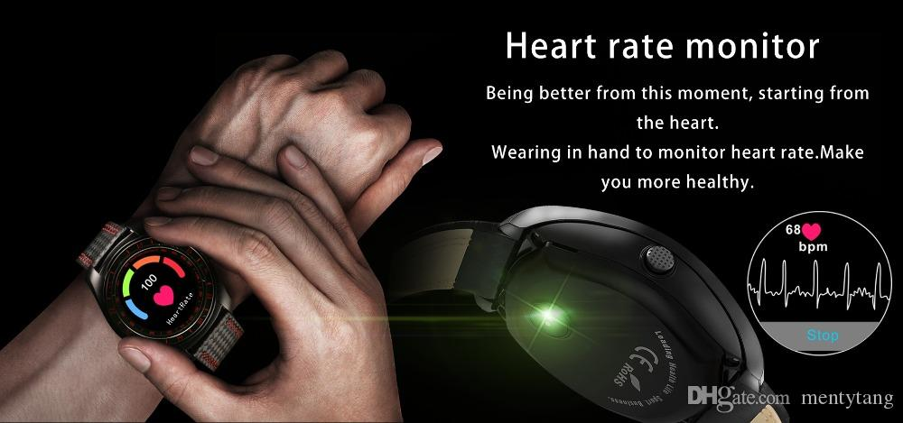 V10 Smart Watch Men Support Sim Card Camera Bluetooth Smartwatch Heart Rate Phone Mate For Android IOS