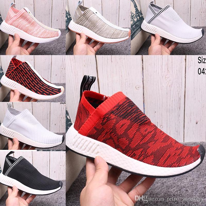 pretty nice ab90f 0a677 Compre Imagen Real 2018 Calzado Deportivo Hombres Mujeres NMD CS2 City Sock PK  Zapatos Al Aire Libre SUPERMEM Nmd R2 RUNNER SE Zapatos A  58.89 Del ...