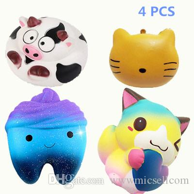 Cellphones & Telecommunications 1pcs Slow Rising Soft Squeeze Cell Phone Straps Scented Bread Cake Stretchy Toy Gift Kawaii Cute Simulation Bread Donut Squishy Evident Effect Mobile Phone Straps