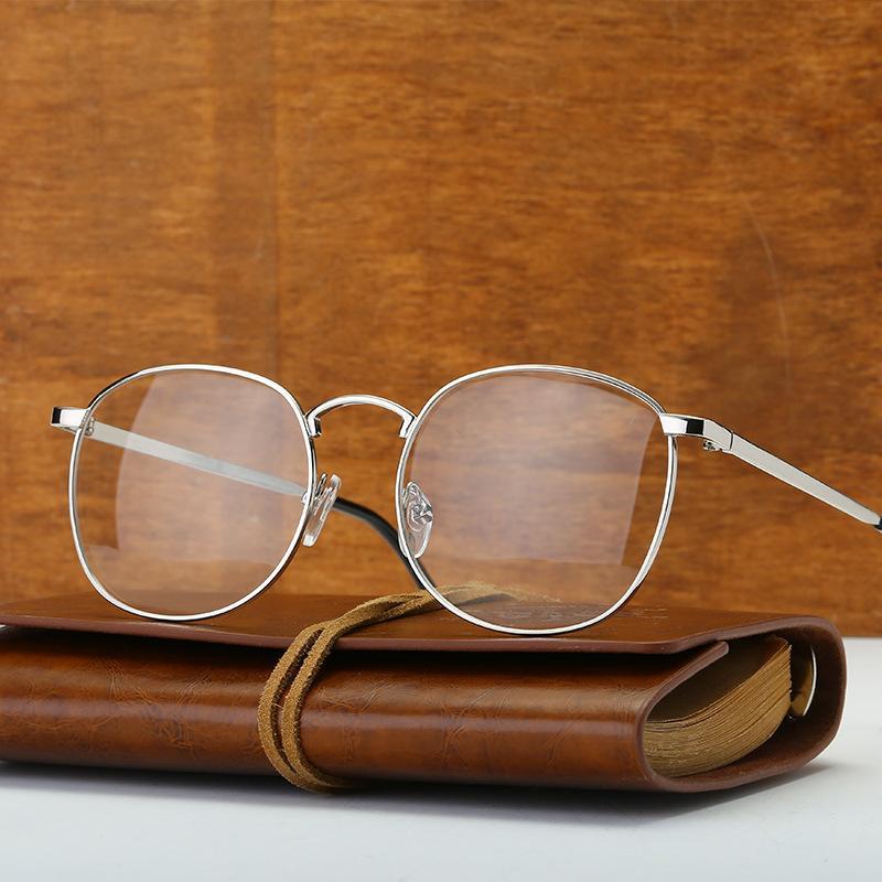 ebcc0de09d1d8 Cubojue Men s Glasses Women Vintage Eyeglasses Frame Clear Plain Lens 80s  Nerd Points for Optical Myopia Diopter Prescription