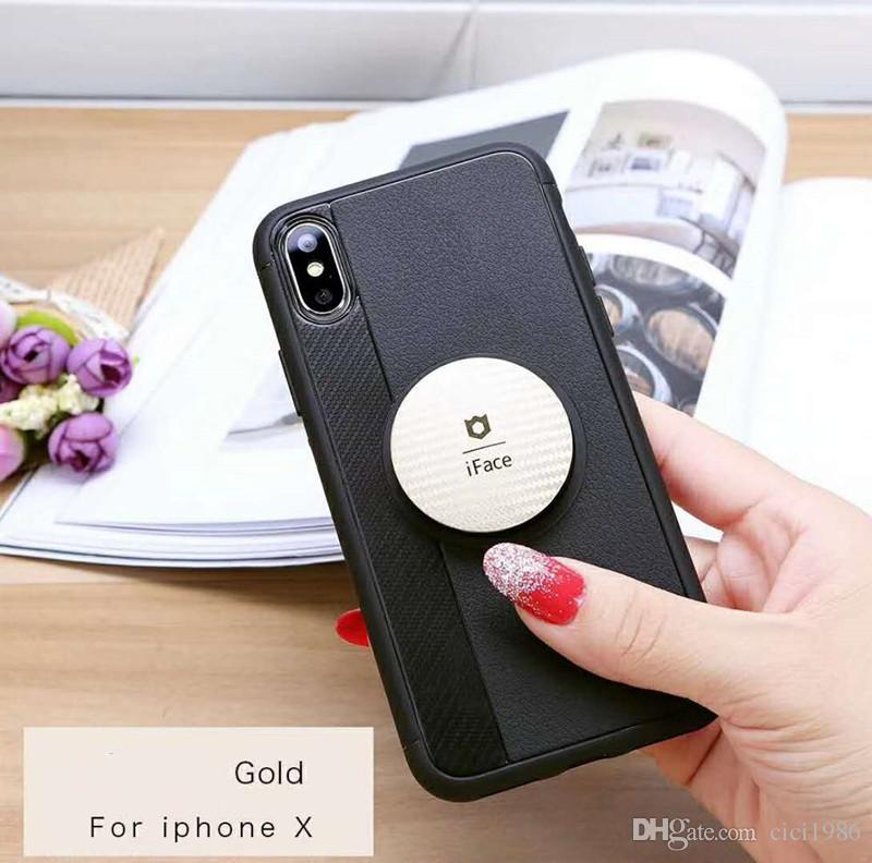 iface retractable balloon holder phone soft shell protective cover for iphone x 8 8plus 7 7plus 6/6s 6/6splus 5/5s samsung A8/2018 A8p/2018