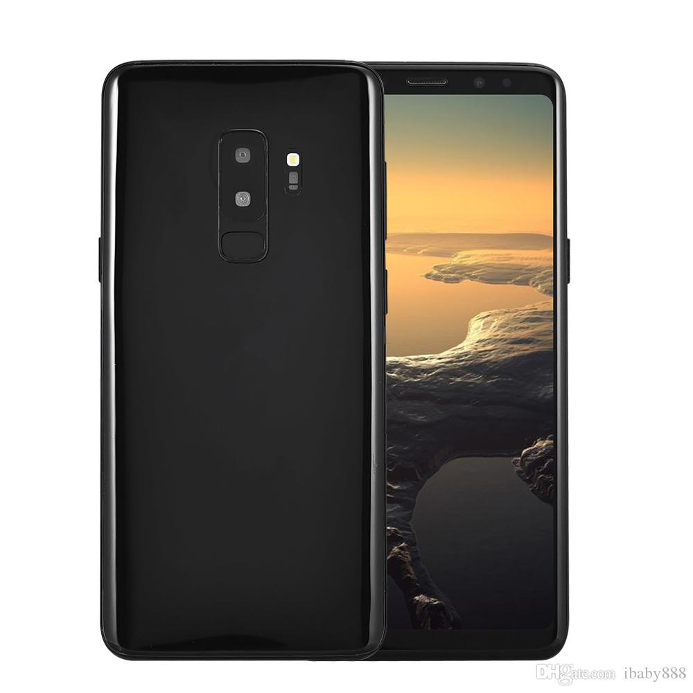 6.2 inch Full Screen Goophone S9+ Plus 1GB 16GB+32GB Face ID Fingerprint 3G WCDMA Quad Core MTK6580 Android 7.0 GPS 13.0MP Camera Smartphone