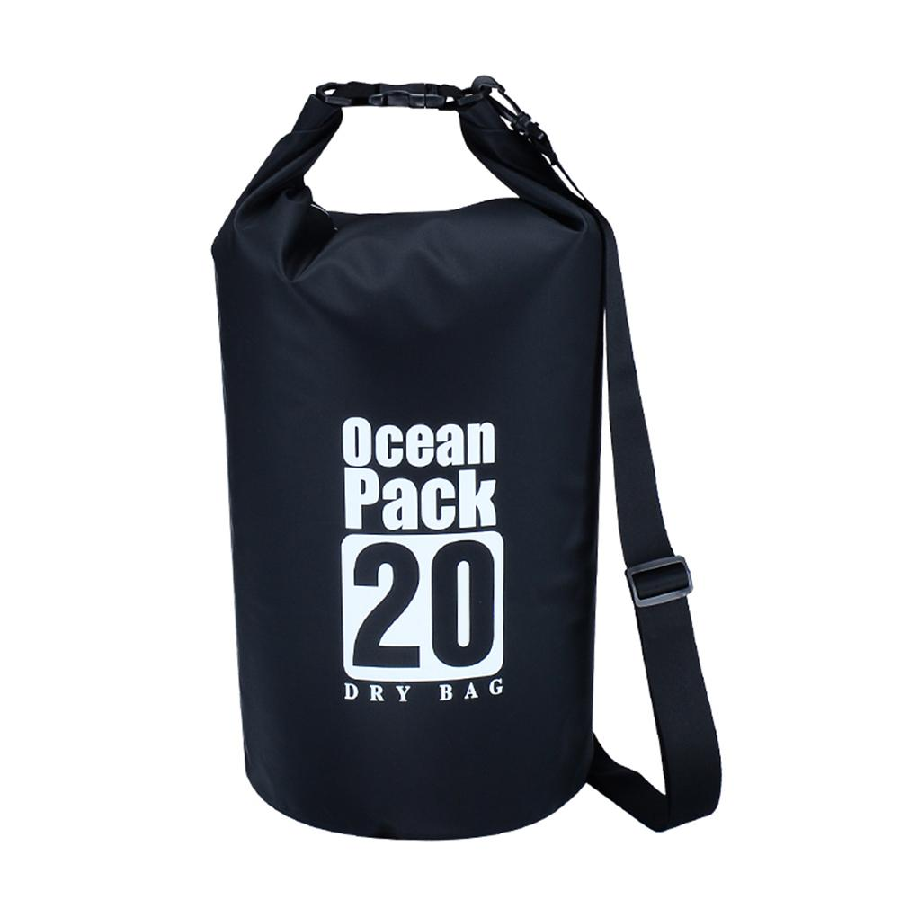 eedcd5fb66ec 2019 10L 20L Waterproof Swimming Storage Dry Sack Bag PVC Pouch Boating  Kayaking Canoeing Floating Surfing Dry Bag Water Sports From Qingfengxu