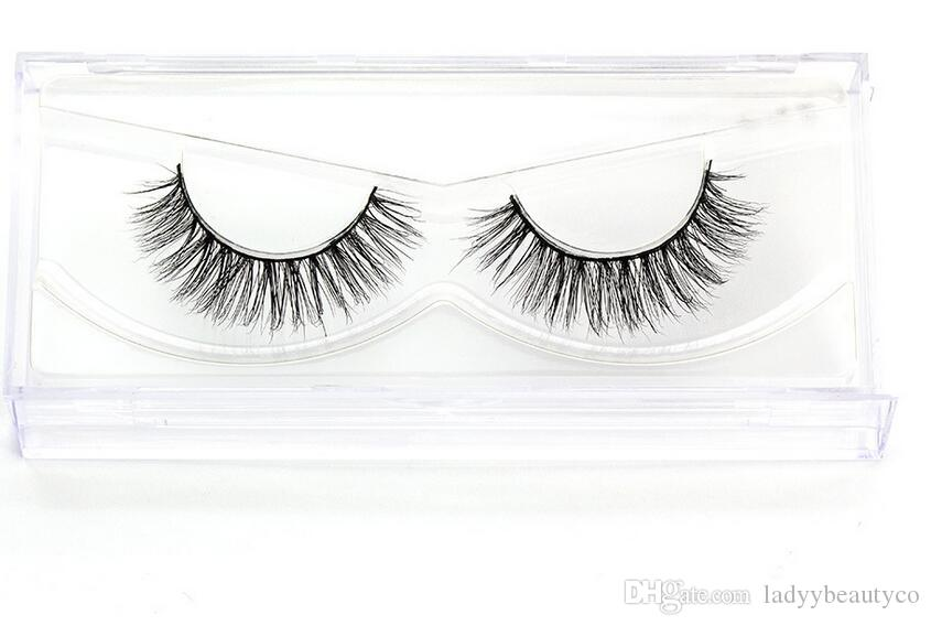 3D-MA03 3D real mink hair eyelashes 3D 100% Real Mink False Eye Lashes/ Fake Eyelashes Extensions For Makeup