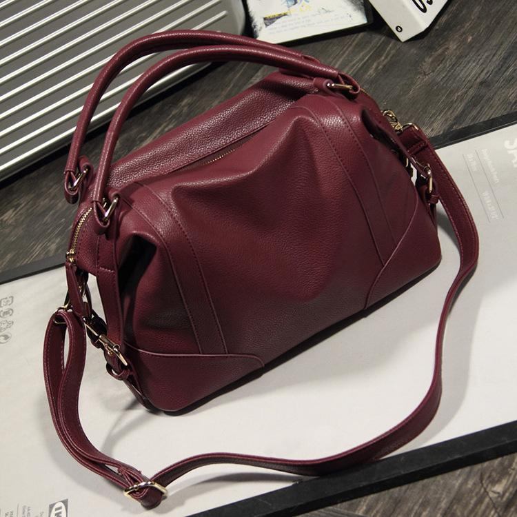 fe0ff1faeb55 2018 Fashion Woman Bags Handbag Ladies Famous Brand Leather Crossbody Bags  Casual Messenger Bag Cheap Hand Bag Handbags Brands Hobo Handbags From ...