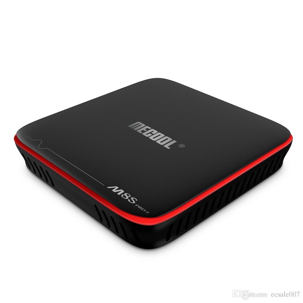 S905W TV Boxes Inteligente TV Android OS 2 GB 16 GB Controlado por Voz caixa android para o google filme Suporte Stalker Youtube 4K Netflix HD