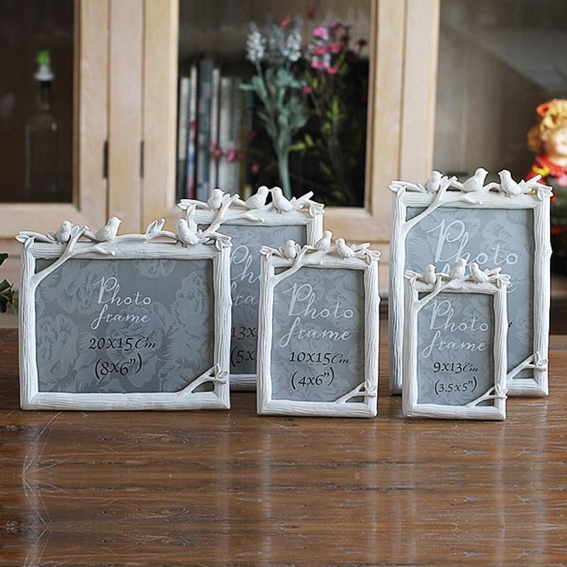 2019 Vintage Resin Bird Photo Frame Picture Frames Decoration Modern
