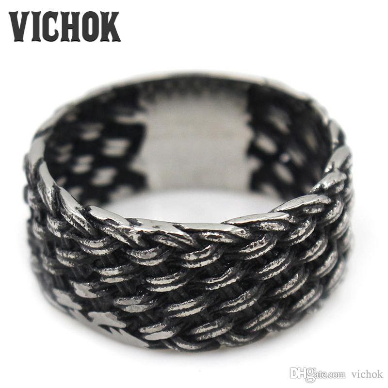 wide style b ring belle hematite knitted woven size brin boutique rings cz products collections
