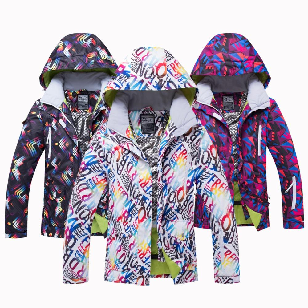 65fbbed7f4 2019 2018 New Hot Winter Ski Jacket Women Waterproof Windproof Snowboard  Coat Snow Female Warm Outdoor Mountain Sport Skiing Suit From Qingbale