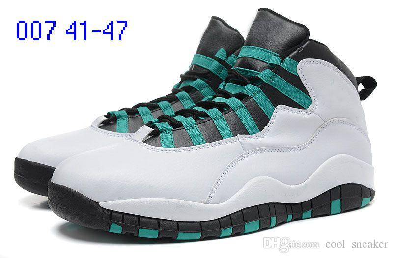 2018 10 for Powder Blue cool Grey OVer red Chicago London Mens Basketball Shoes classic 10s X Mid Athletic Sport Sneakers