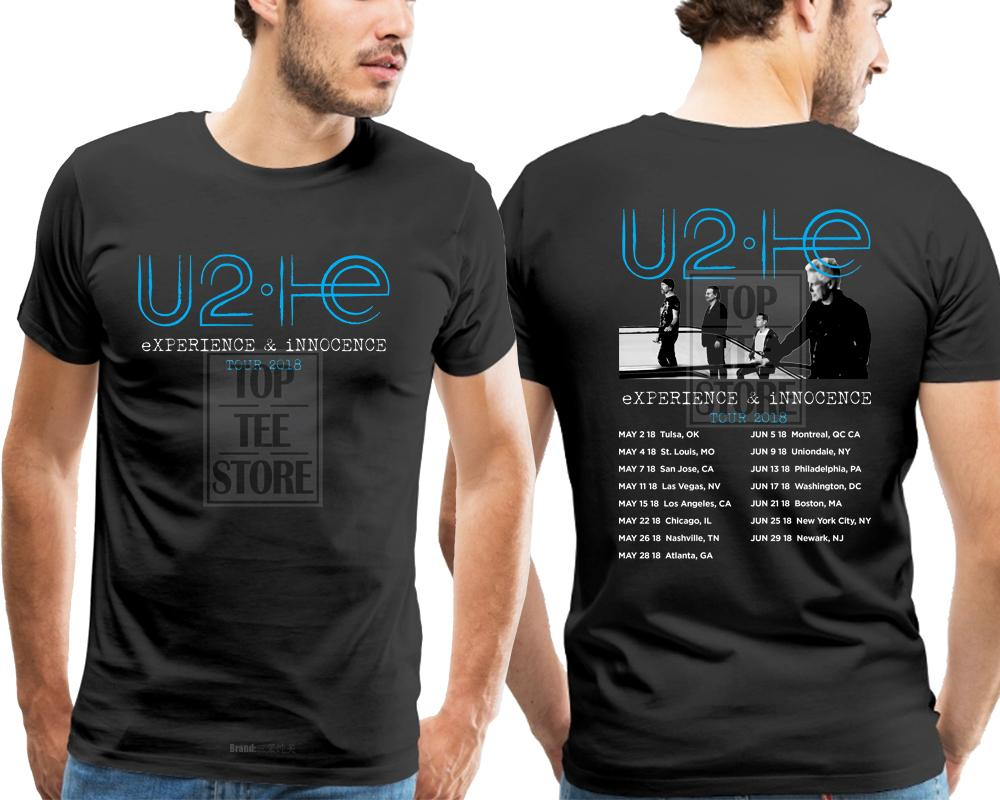 Compre U2 Experience Innocence Tour 2018 Camiseta Hombre Talla S A 4Xl A   41.48 Del Berniee  f721b02152333