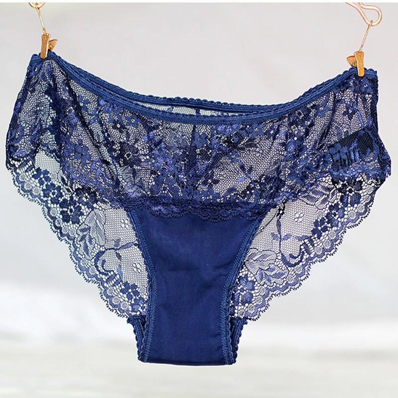 Plus size Hot Underwear Women Panties Briefs for Female hipster Underpant Sexy Lingerie Lace Cotton string big size hot sale QS