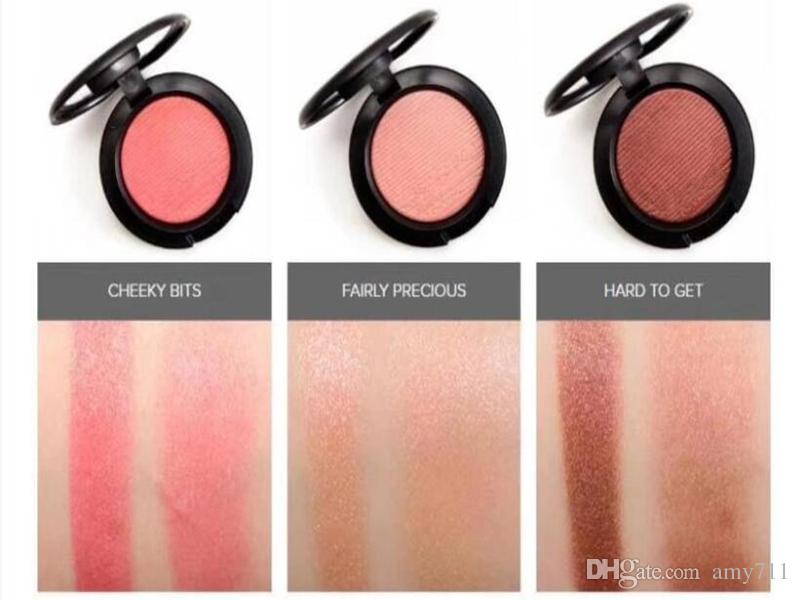 Hot Powder Shimmer Blush Powder Shimmer Pink Swoon Peaches rouge Pearl grooming blusher Factory Price Party Makeup 6g