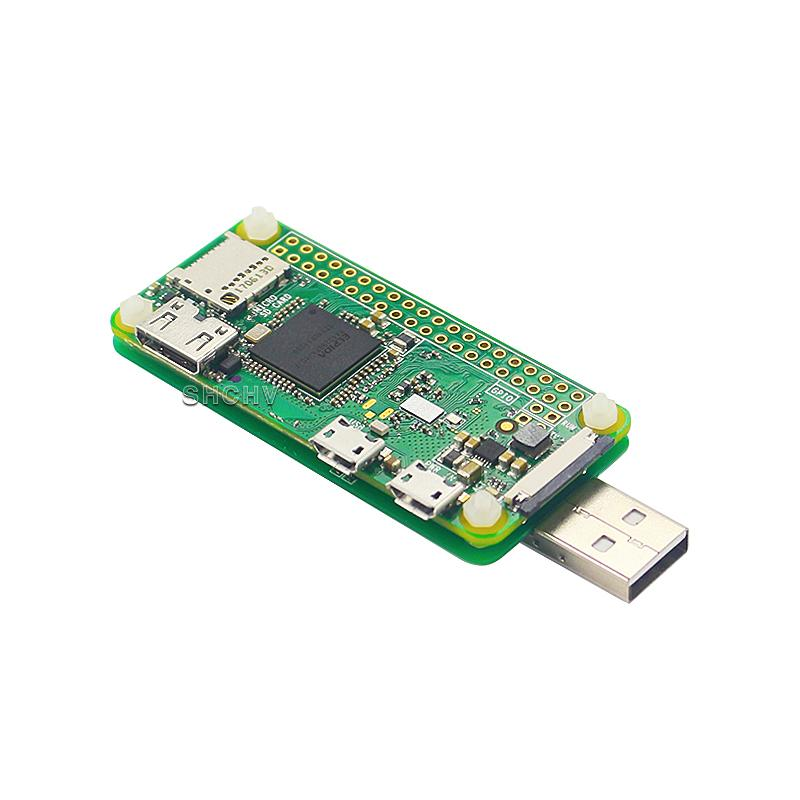 For Raspberry Pi Zero W USB Adapter Board USB Extender Converter for PC  Power Supply Free-Welding
