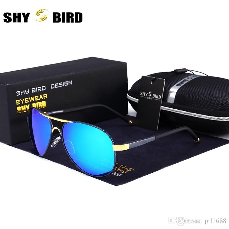 931b2723190 SHYBIRD High Quality Polarized Lens Pilot Fashion Sunglasses For Men ...