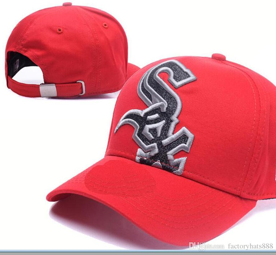 6891c29d35d 2018 Sports White Sox Hat Baseball Cap Embroidery Thounds Styles ...