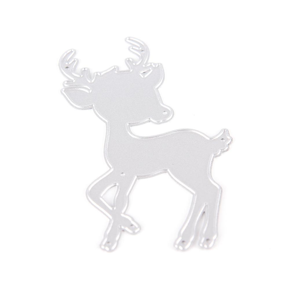 Taglio di scrapbooking dei tagli del metallo dei cervi di Natale per le matrici di taglio del metallo della tagliatrice