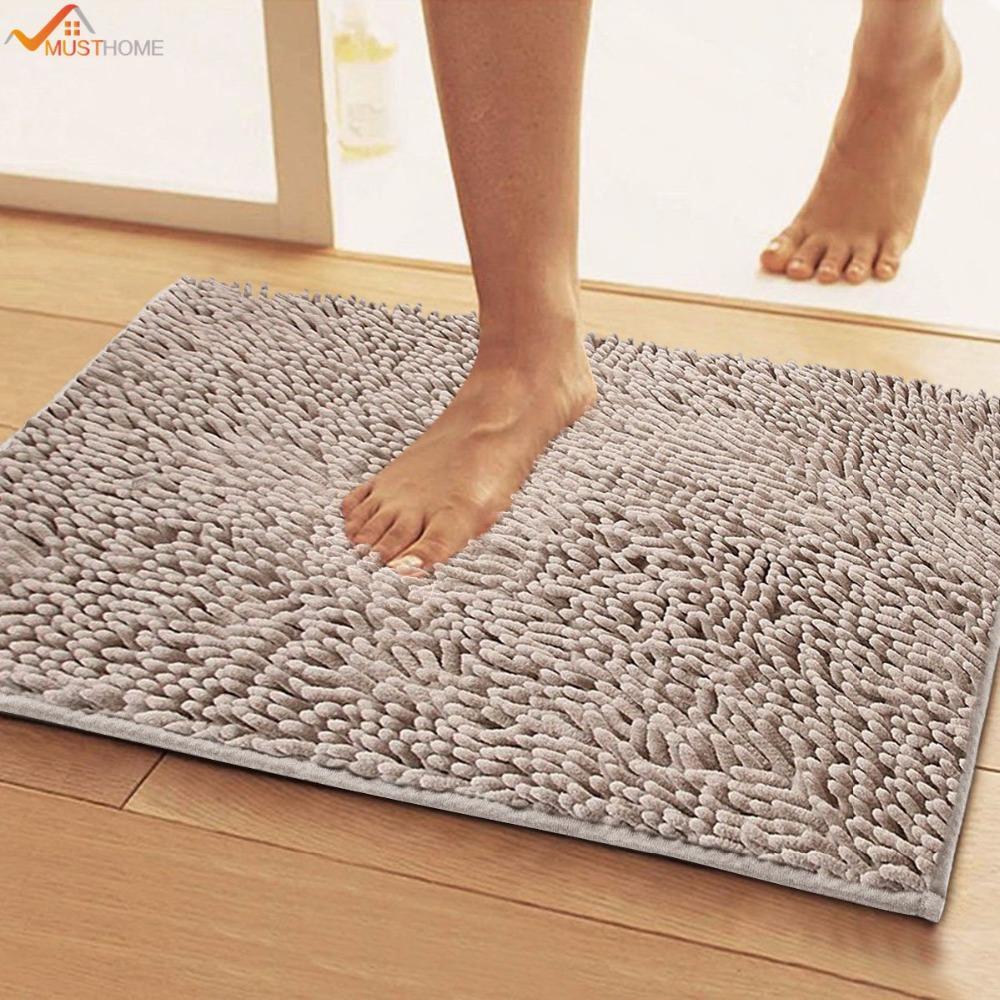 40 * 60 cm bodenmatte bad teppich küche teppich tür weg füße matte  rutschfeste streifen fußmatte boden küche carpet bad