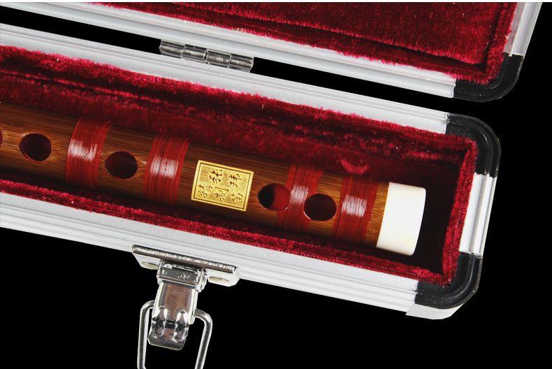 B001 Metal Case Pour Dizi Entier Sans Joint Cuivre Chinois Flûte En Bambou Chinois Forte