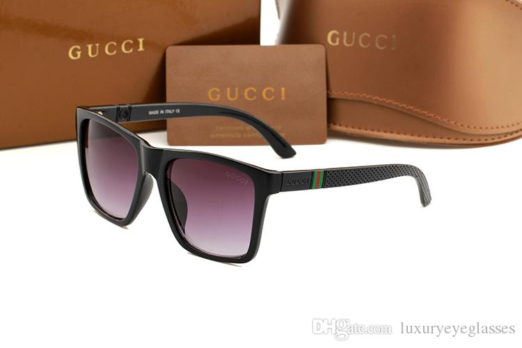f3fa165c82e Sunglasses Luxury Brand Designer Womens Men Plastic Square Frame Sun Glasses  Shades Goggles Female Famous Fashion Sunglasses G2247 Best Sunglasses  Dragon ...