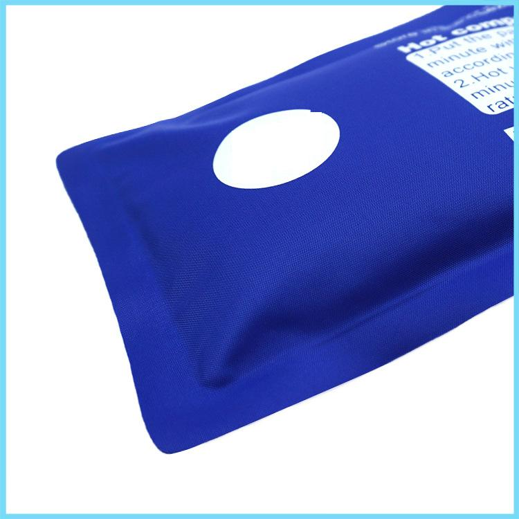 Creative Useful Compound Nylon Soft Gel Cold Hot Bag Rectangle Physiotherapy Ice Pack Bag Relieve Stress