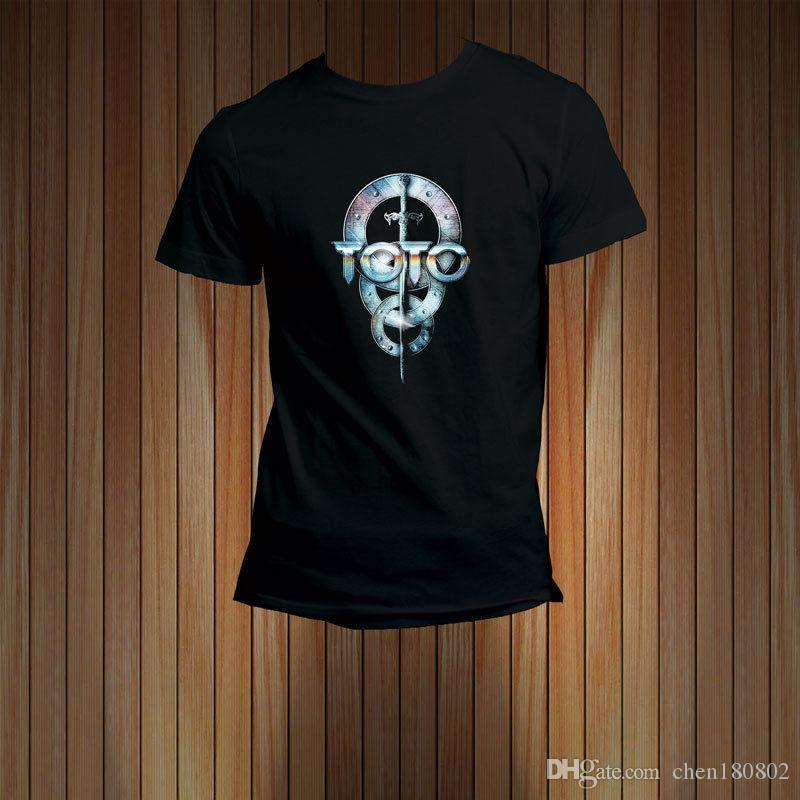 Toto Tour 2017 Black T Shirt Tee Buy Funky T Shirts Online Ot Shirts ...
