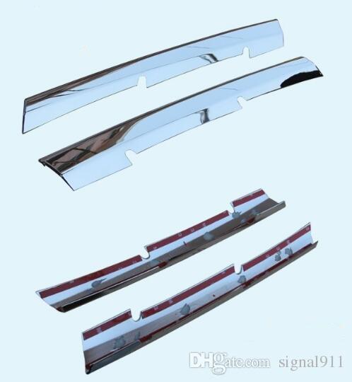 Высокое качество ABS хром 2шт автомобилей решетка украшения отделка, панель защиты для Кадиллак SRX 2010-2012