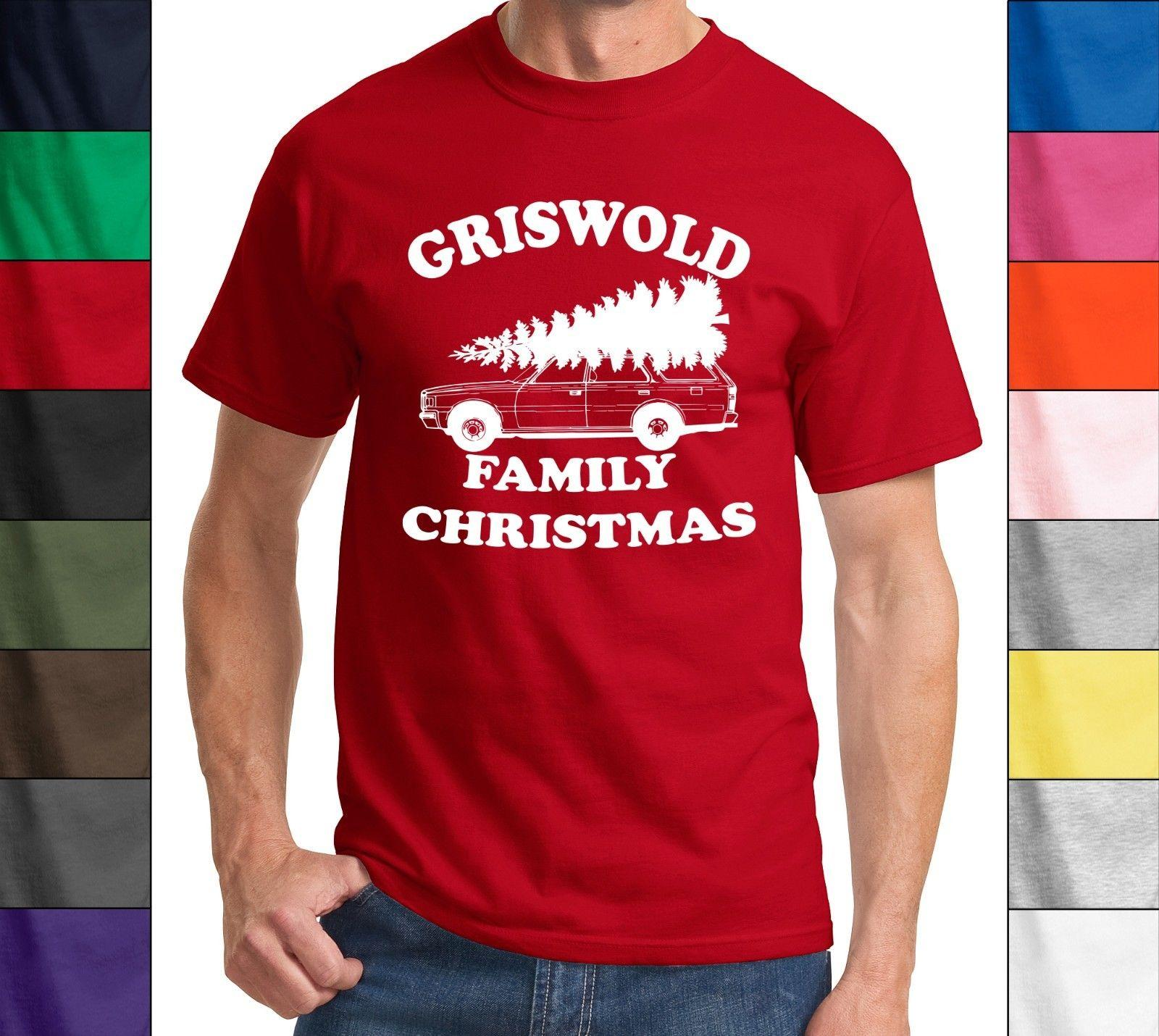 a5dcc84db Griswold Family Christmas Funny T Shirt Clark Griswold Xmas Tree Holiday  Tee Funny Unisex Casual Tee Gift Of T Shirt T Shirt On From Elite_direct,  ...
