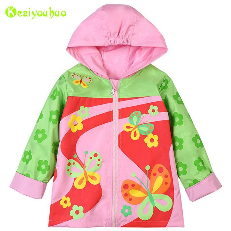 3c13a1e5c KEAIYOUHOU 2018 Spring Girls Jackets For Girls Trench Coat Girl ...