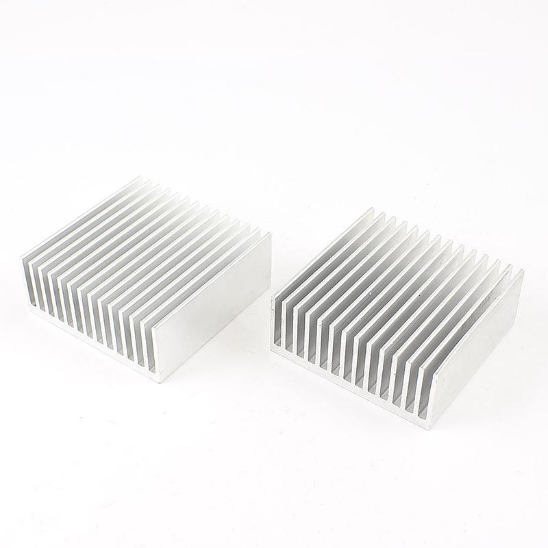 Wholesale- 2pcs Chipset Heatsink Heat Diffuse Cooling Fin 50mm x 56mm x 20mm