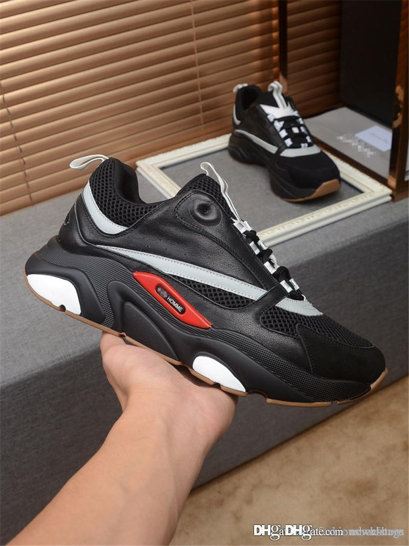 NEW NO.1Dior Home B22 EW Mens Homme B22 Black And Grey Calfskin Sneaker  RARE Shoes Runners Sneakers With Box Online with  167.67 Piece on  Newxfstore s Store ... f68e205f903