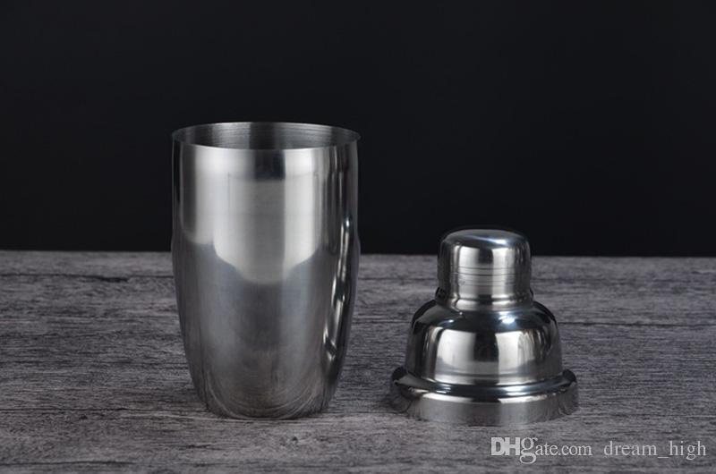 Le shaker martin de Boston de vin de mélangeur de cocktail en acier inoxydable pour le barman boivent la barre de partie 350ML / 550ML / 750ML
