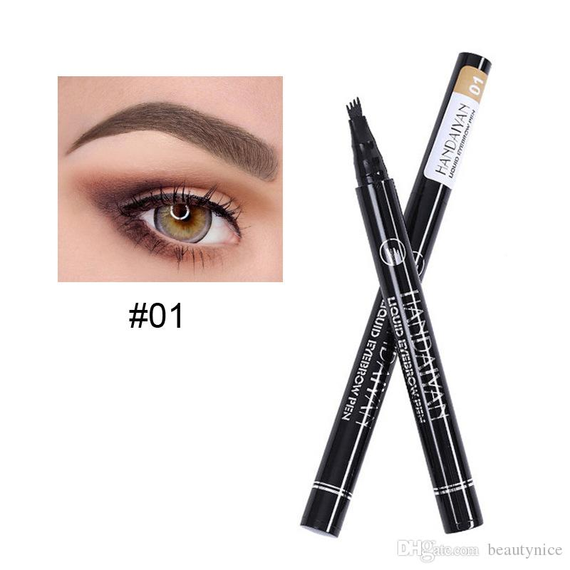 New Style Handaiyan Liquid Pen Waterproof Eyebrow Pencil Four Liquid