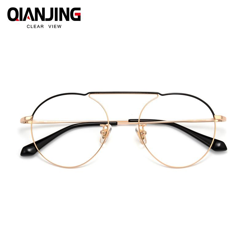 0f67860aeee4 2019 Width 136 Ultra Light Pure Titanium Full Frame Wrap Retro Female Thin Optical  Eyeglasses Frame Men Male Eyewear Spectacle From Cupwater