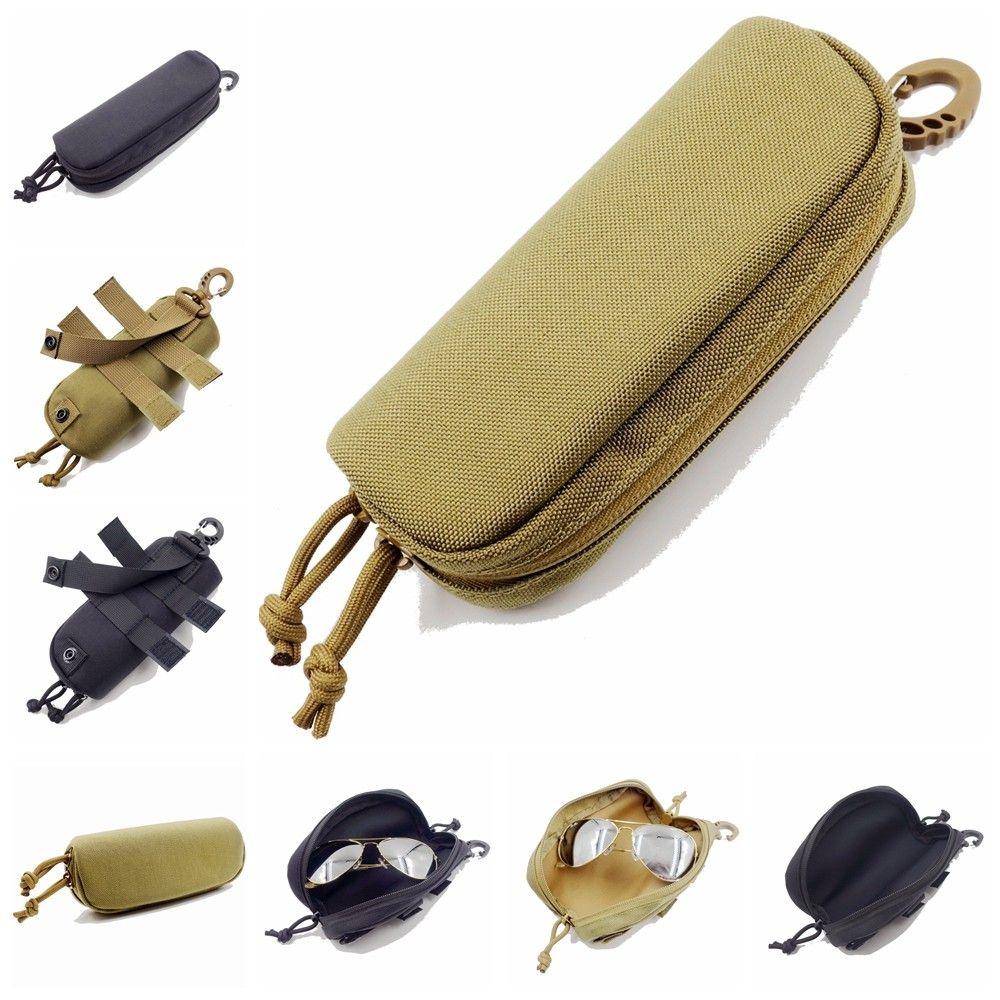 b7dfd276db Acheter Sac De Lunettes Tactique MOLLE Antichoc Pochette De Protection  Portable Lunettes De Soleil Extérieures Pochette Etui De Transport De $6.54  Du ...