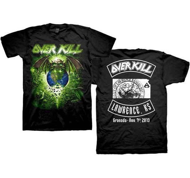 código promocional a24bb 8dfd9 OVERKILL Lawrence T SHIRT Brand New Official t Shirt estampar camisetas  online baratas