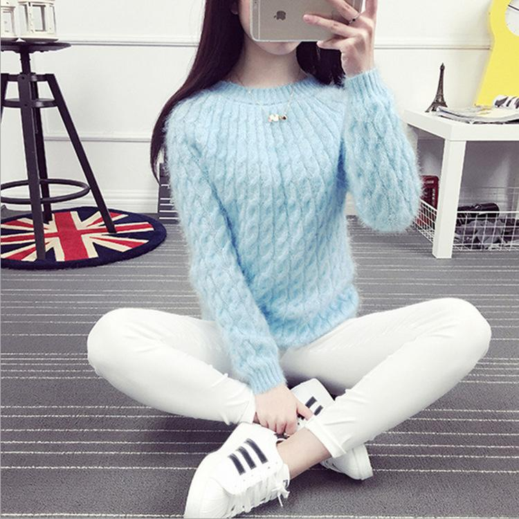 b5d64744547 2019 Pull Femme 2018 Autumn Winter Women Sweaters And Pullovers ...