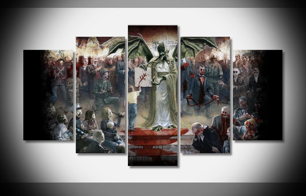 Compre 8146 Cthulhu 4 Poster Enmarcado Galería Wrap Lámina Inicio ...