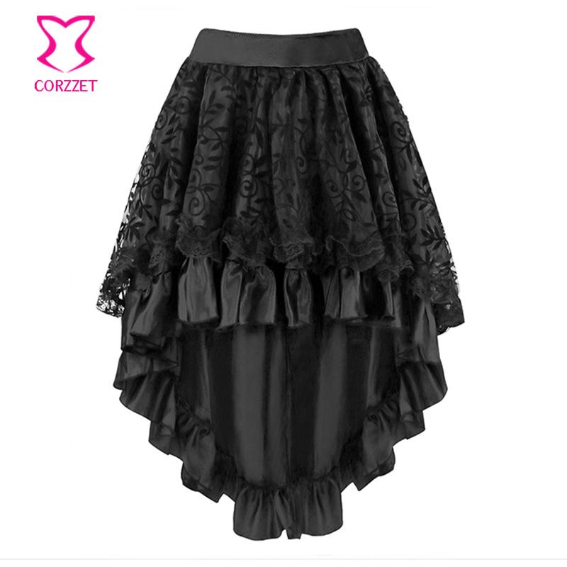 S-6XL Vine Flocking Victorian Corset Skirt ett For Women Outfits Gothic Dress Plus Size Corsets And Bustiers Burlesque Dress