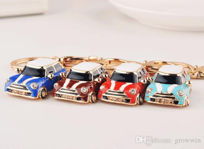 European And American Fashion Mini Car Keychain Beautiful Small Gift