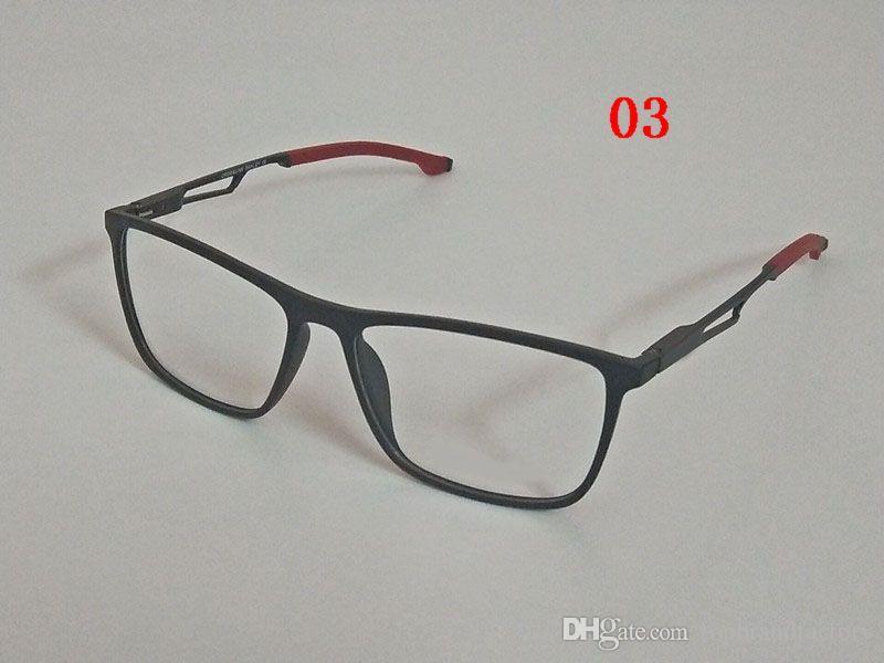 ad5d45a85e686 Compre 8222 Clássico Retro Lente Clara De Metal Armações De Óculos De Marca  De Moda Designer De Óculos Homens Mulheres Óculos De Armação De Óculos  Ox8222 De ...