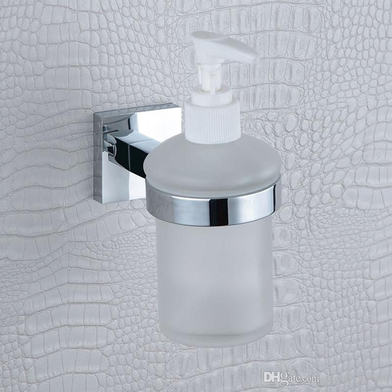 2019 Glass Liquid Soap Dispenser Pump Wall Mount Hand Wash Shower