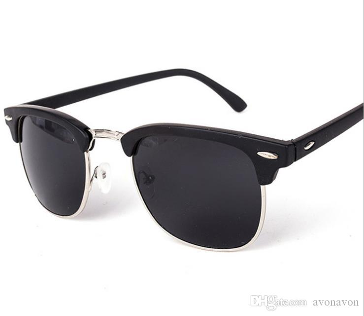 042e5c01d28 Top 2018 Polarized Sunglasses For Men Women 3016 Classic Semi Rimless  Fashion Design Driving Glasses Polaroid Lens A467 Koali Eyeglass Frames  Lafont ...