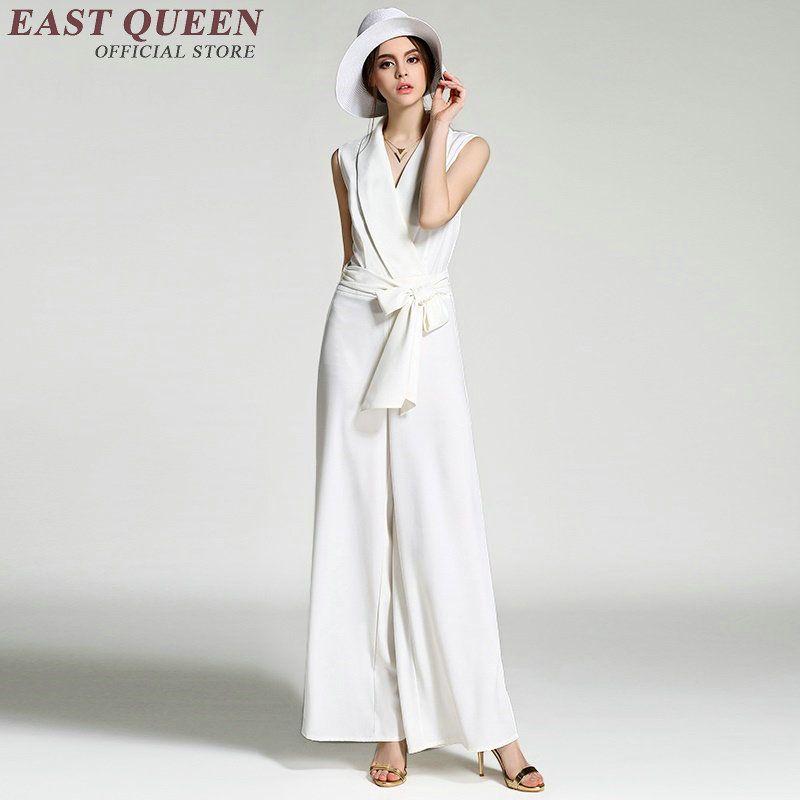 2019 Elegant Women Jumpsuit Women Business Casual Clothing Black Or